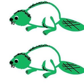 Beaver (centered)