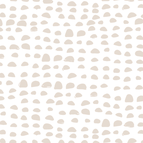 Pebbles in grey fabric by lburleighdesigns on Spoonflower - custom fabric