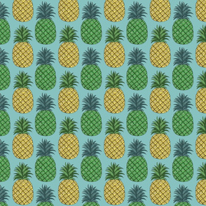 pineapple_pair_blue_blue_4x4