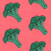 love broccoli vegetable kitchen tea towel home decor