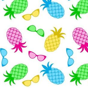 Sunny Pineapple Toss