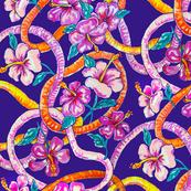 ilima lei & hibiscus