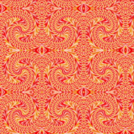 Sand_drawing_Red fabric by karwilbedesigns on Spoonflower - custom fabric