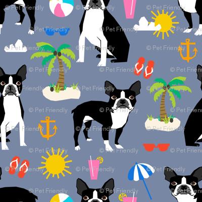 boston terrier, beach fun cute beach summer tropical dog cute dog