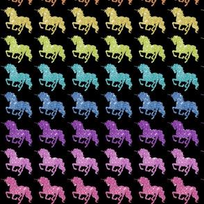 Rainbow Glitter Unicorns