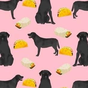Black Labrador, tacos, food, black lab, labrador retriever, food, novelty dog print for lab owners, cute dogs dog print