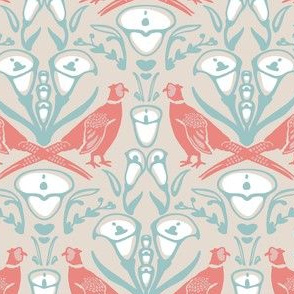 Damask Pheasants