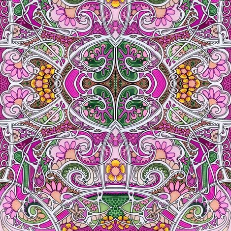 Ready, Set, Bloom fabric by edsel2084 on Spoonflower - custom fabric