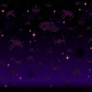 Starry Wars Galaxy Ships