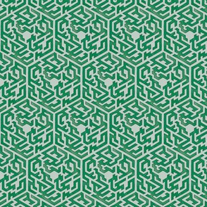 Maze Map in Jade