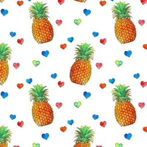 Happy Summer Pineapple Love