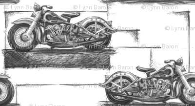 "Graphite Motorcycles Small (4"")"