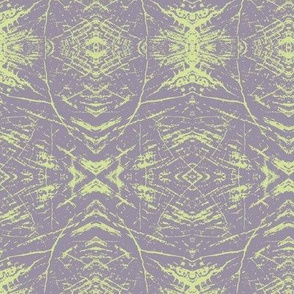 Tree Rings (Lavender & Lime)