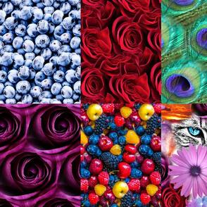 Print Blocks Floral Fat Quarter