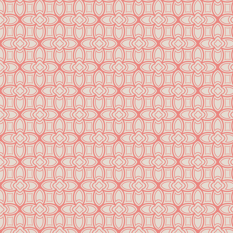 goemetric nouveau fabric by lburleighdesigns on Spoonflower - custom fabric