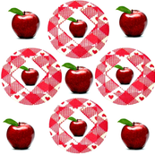 9 Red Apples