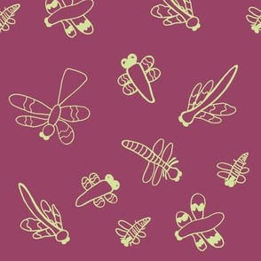 Dragonflies (Ruby)