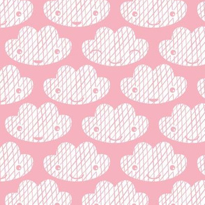 Soft clouds sweet dreams kawaii sparkle sky soft pink