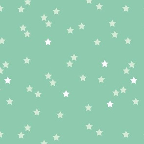 Soft stars good night sweet dreams sparkle mint gender neutral