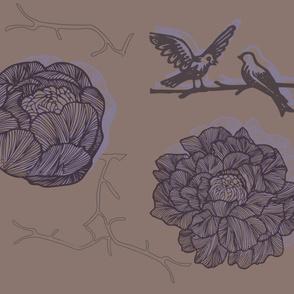Plum Birds