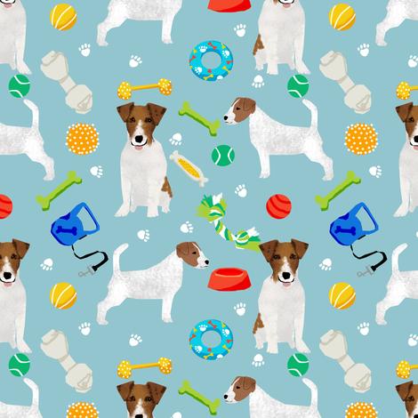 jack russell dog toys jack russells fabric dog lovers dog toys for jack russell dogs fabric by petfriendly on Spoonflower - custom fabric