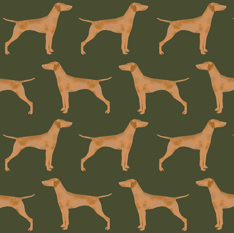 vizsla dog dogs vizslas dog fabric cute pet dog fabrics fabric by petfriendly on Spoonflower - custom fabric