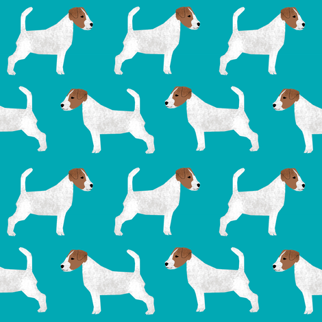 jack russell terrier cute dogs dog pet dog fabric fabric by petfriendly on Spoonflower - custom fabric