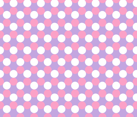 Purple/Pink Polka Dots fabric by pixstry on Spoonflower - custom fabric