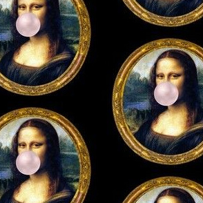 "Mona Chewing Gum 4"" - Black"