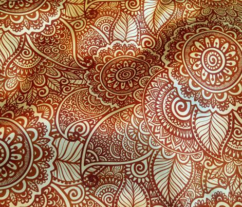 Mehndi pattern