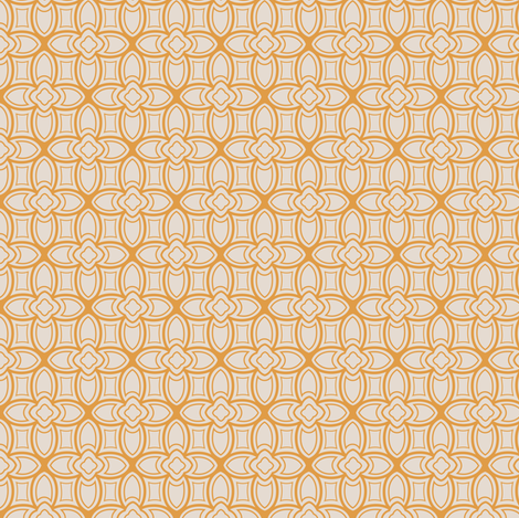 Geometric nouveau fabric by lburleighdesigns on Spoonflower - custom fabric
