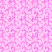 Mermaid Scales Anenome Pink, Mini