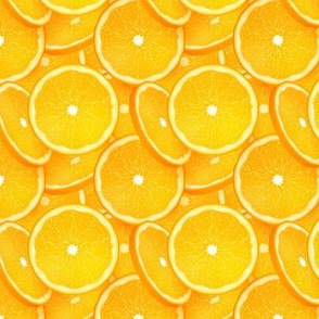 Orange slices pattern