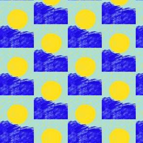 Surfing Suns Checkerboard