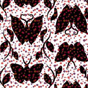 Cranberry Butterfly Column