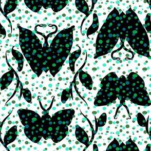 Emerald Butterfly Column