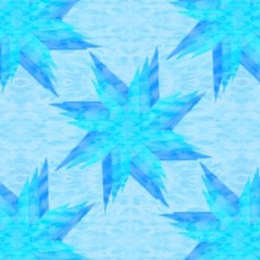 Layered Star Aqua