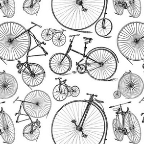 Antique Bikes & Bicycles