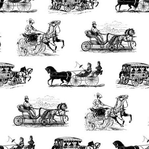 Antique Horse Drawn Carriages
