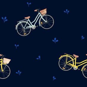 bikes on navy