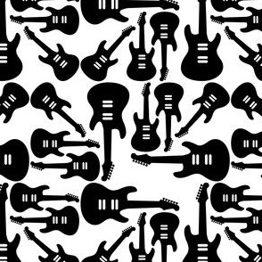 Electric Guitar Pattern