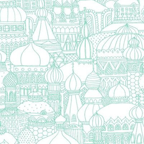Delightful Domes - Mint