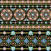 Millefiori Folkloric Stripe