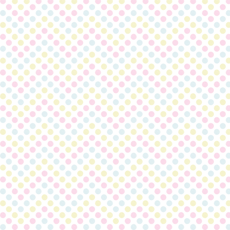 Zig Zag Polka Dots (Afternoon Tea) fabric by marcelinesmith on Spoonflower - custom fabric
