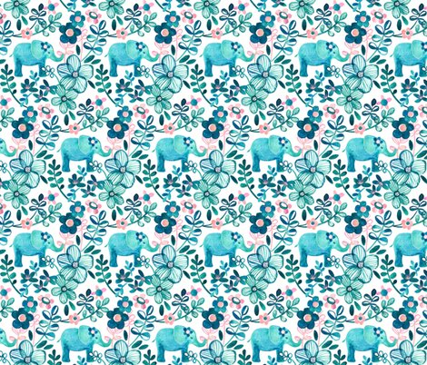 Rrelephant_and_teal_floral_pattern_base_spoonflower_shop_preview