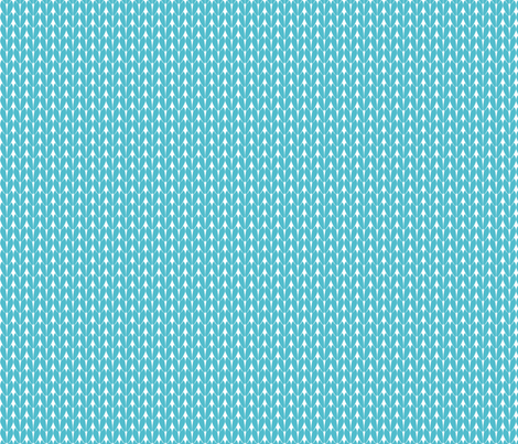 Knit Stitches - Teal- Knitter's Kitchen fabric by knitterskitchen on Spoonflower - custom fabric