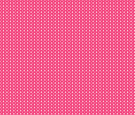 Knit Stitches - Hot Pink - Knitter's Kitchen fabric by knitterskitchen on Spoonflower - custom fabric