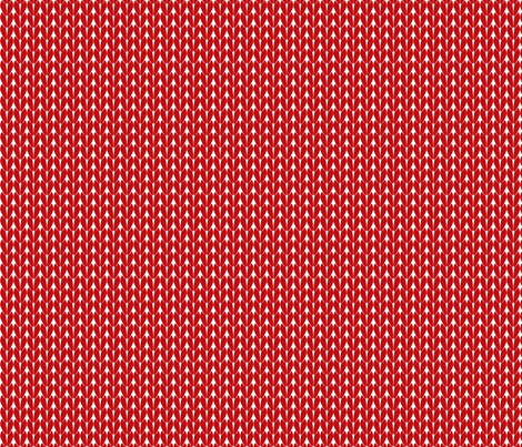 Knit Stitches - Red - Knitter's Kitchen fabric by knitterskitchen on Spoonflower - custom fabric