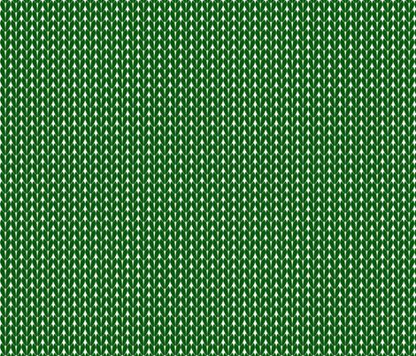 Knit Stitches - Dark Green- Knitter's Kitchen fabric by knitterskitchen on Spoonflower - custom fabric