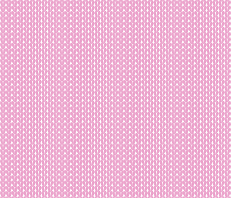 Knit Stitches - Light Pink- Knitter's Kitchen fabric by knitterskitchen on Spoonflower - custom fabric